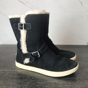 UGG Barley Fur Suede Winter Snow Boots